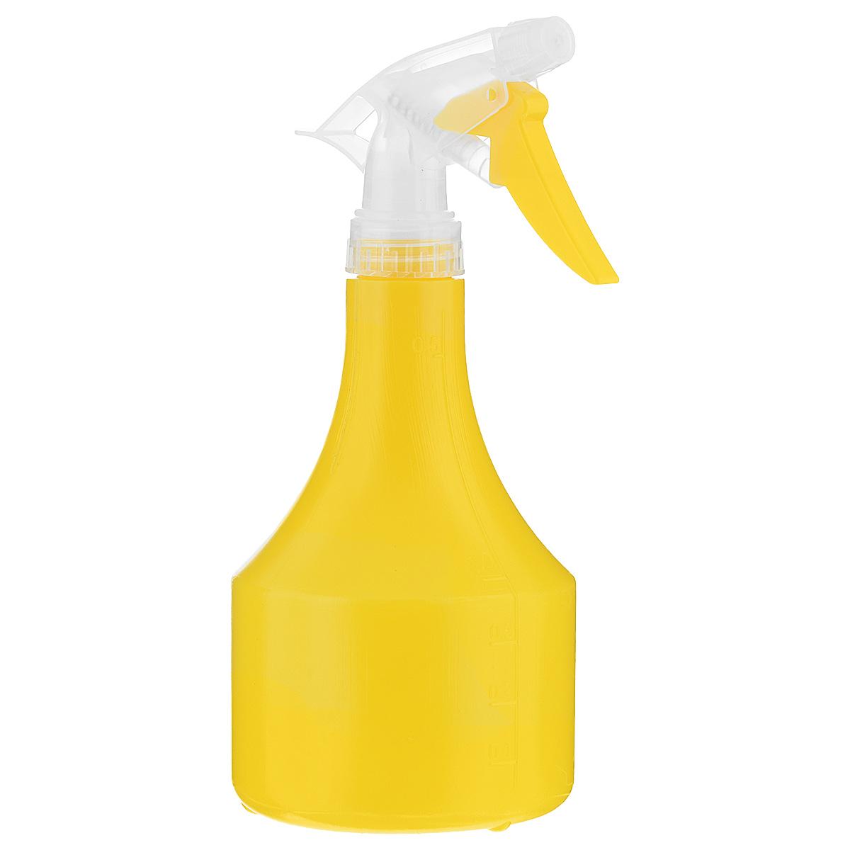Опрыскиватель Idea Капля, цвет: желтый, 0,5 лМ 2147Опрыскиватель Idea Капля имеет форму в виде капли. Изготовлен из полипропилена и всегда поможет вам в уходе за вашими любимыми растениями. Объем: 0,5 л. Высота: 21,5 см.