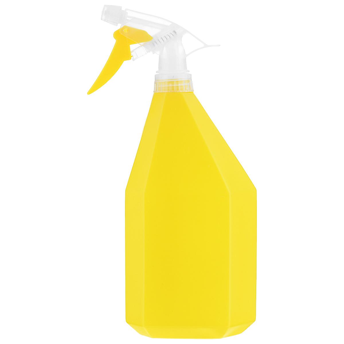 Опрыскиватель Idea Конус, цвет: желтый, 1 лМ 2144Опрыскиватель Idea Конус оснащен специальной насадкой. Изготовлен из пластика и всегда поможет вам в уходе за вашими любимыми растениями. Объем: 1 л. Высота: 26 см.