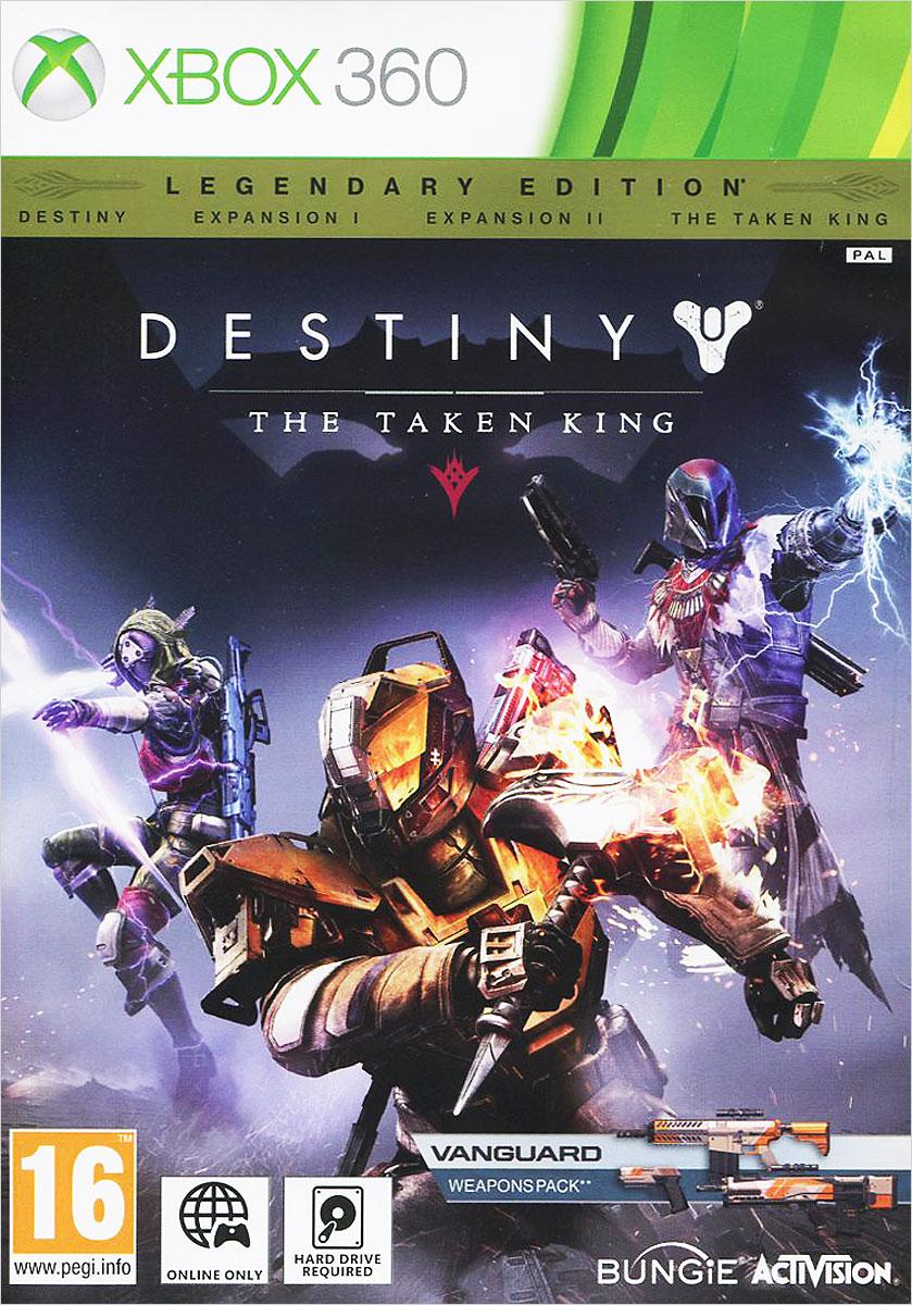 Destiny: The Taken KingВеликая тень накрыла наши миры. Орикс, Одержимый Король, мечтает о мести и создает армию одержимых, используя силу самой Тьмы. Вам предстоит проникнуть на неприступный дредноут и одолеть Одержимого Короля прежде, чем его темная армия поглотит цивилизацию и уничтожит Солнечную систему… Destiny: The Taken King - следующая захватывающая глава в истории мира Destiny, с новой сюжетной кампанией и заданиями, новыми противниками, неисследованными уголками мира, новыми страйками (Strike) и картами для онлайн-режима Crucible, с уникальным и полным опасностей Рейдом, и многим другим. Справиться с грядущими испытаниями игрокам помогут три новых подкласса Стражей, а также колоссальный арсенал оружия, брони и снаряжения. Особенности дополнения: Новые способности Игроки получат доступ к трем дополнительным подклассам со своими уникальными способностями: Колдунам (Warlocks) отныне подвластна сила электрической бури. Охотники (Hunters)...