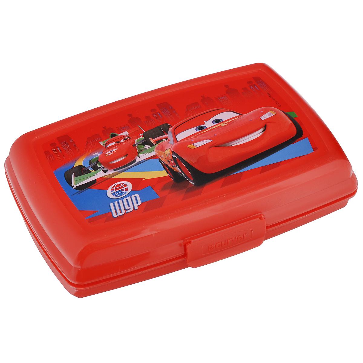 Емкость Curver Multisnap Disney, цвет: красный, 0,6 л02275-С06-01_красныйCurver Multisnap Disney - это небольшая емкость, предназначенная для хранения мелких предметов. Выполнена из высококачественного пластика. Емкость имеет пластиковую защелку, предохраняющую содержимое от высыпания. Идеально подходит для хранения мелков, скрепок и других мелких предметов, для которых трудно найти надлежащее место в комнате. Также отлично подходит в качестве емкости для второго завтрака вне дома.