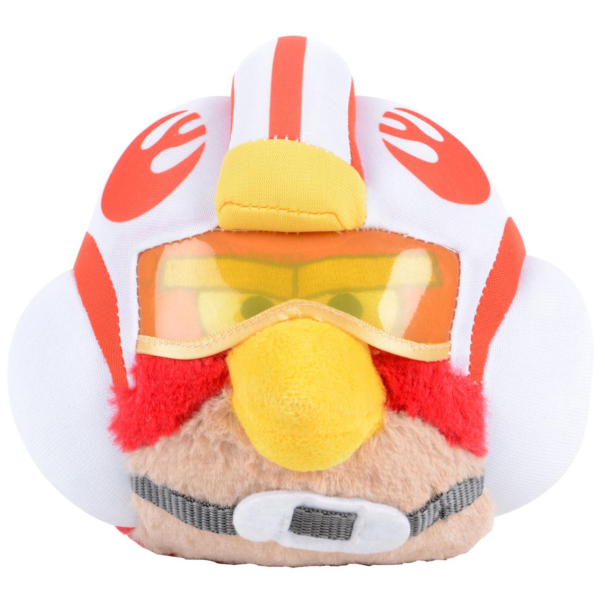 Angry Birds Мягкая озвученная игрушка Star Wars: Luke Skywalker Pilot, 27 см94065В_белыйМягкая озвученная игрушка Angry Birds Star Wars: Luke Skywalker Pilot подарит вашему ребенку много радости и веселья. Удивительно приятная на ощупь игрушка выполнена в виде двойника красной птицы из популярной игры Angry Birds - Люка Скайуокера. При нажатии на кнопку, расположенную на макушке, игрушка начинает издавать забавные звуки. Чудесная мягкая игрушка непременно поднимет настроение своему обладателю и станет замечательным подарком к любому празднику. Angry Birds Star Wars - продолжение серии знаменитой игры Angry Birds. Игра посвящена и сделана по мотивам фильма Звёздные войны. Игрушка работает от незаменяемых батареек.