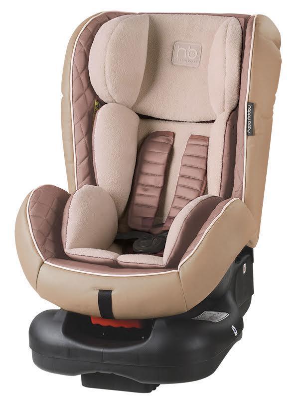 Автокресло Happy Baby Taurus Beige4690624016363Taurus — автомобильное кресло групп 0/I (для детей от 0 до 18 кг). Внешняя часть кресла выполнена из качественной экокожи, приятной на ощупь, которая не пачкается и имеет водоотталкивающий эффект. Благодаря дышащей фактурной вкладке малыш будет чувствовать себя комфортно. Кресло имеет 4 положения наклона спинки, оснащено удобным механизмом регулировки. Ребенок фиксируется в кресле с помощью пятиточечных ремней безопасности, оснащенных регулируемыми по высоте накладками. Вы можете комфортно поместить малыша в кресло и быть уверенными в его безопасности. Автокресло крепится в автомобиле с помощью трехточечных штатных ремней безопасности и устанавливается лицом по ходу или против движения автомобиля.