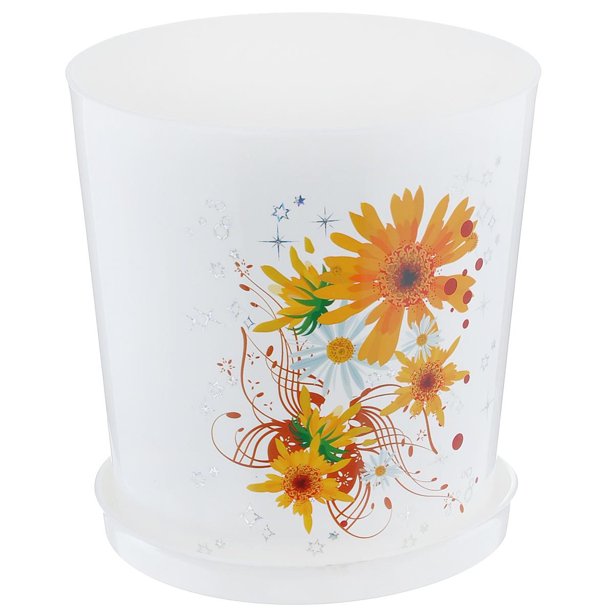 Горшок цветочный Альтернатива Совершенство, с поддоном, 1,8 л, диаметр 13,5 смМ1599Цветочный горшок Альтернатива Совершенство выполнен из пластика и предназначен для выращивания в нем цветов, растений и трав. Такой горшок порадует вас современным дизайном и функциональностью, а также оригинально украсит интерьер помещения. К горшку прилагается поддон. Объем горшка: 1,8 л. Диаметр горшка по верхнему краю: 13,5 см. Высота горшка: 15 см. Диаметр поддона: 13 см.
