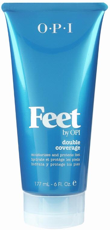 OPI Feet Средство для ног Двойная защита, 177 млFT116Двойная защита Double Coverage FT116. Увлажняет и защищает кожу ног. В состав входит масло косточек дерева ШИ. Содержит хлопковую пудру, которая покрывает кожу ног невидимым слоем и предотвращает появление кожных заболеваний.