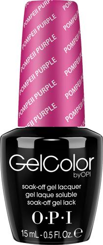 OPI Гель-лак GelColor Pompeii Purple, 15 млGCC09GELCOLOR от OPI. ГЕЛЬКОЛОР это 100% гель в лаковом флаконе! В отличие от гелей-лаков, из-за отсутствия лаковой составляющей ГЕЛЬКОЛОР не подвержен сколам и трещинам. Ультра-быстрое светоотверждение в LED-лампе OPI! Всего лишь 4 минуты на все слои включая базу и верхнее покрытие на всех пальцах! Не требует шлифовки ногтей перед нанесением и опиливания при снятии, а значит — не травмирует ногти! Снимается за 15 минут отмачиванием. ГЕЛЬКОЛОР - экономичен! ГЕЛЬКОЛОР - это высочайшее качество OPI по доступной цене. Оттенки легендарных лаков OPI при желании можно наносить поверх ГЕЛЬКОЛОР. Сравните стоимость ГЕЛЬКОЛОР с другими марками и Вы увидите разницу! Стойкое и сияющее покрытие на недели вперед с GELCOLOR. ГЕЛЬКОЛОР это 100% гель в лаковом флаконе! В отличие от гелей-лаков, из-за отсутствия лаковой составляющей ГЕЛЬКОЛОР не подвержен сколам и трещинам. Ультра-быстрое светоотверждение в LED-лампе OPI! Всего лишь 4 минуты на все слои включая базу и верхнее покрытие на всех пальцах!...
