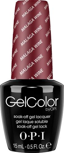 OPI Гель-лак GelColor Malaga Wine, 15 млGCL87GELCOLOR от OPI. ГЕЛЬКОЛОР это 100% гель в лаковом флаконе! В отличие от гелей-лаков, из-за отсутствия лаковой составляющей ГЕЛЬКОЛОР не подвержен сколам и трещинам. Ультра-быстрое светоотверждение в LED-лампе OPI! Всего лишь 4 минуты на все слои включая базу и верхнее покрытие на всех пальцах! Не требует шлифовки ногтей перед нанесением и опиливания при снятии, а значит — не травмирует ногти! Снимается за 15 минут отмачиванием. ГЕЛЬКОЛОР - экономичен! ГЕЛЬКОЛОР - это высочайшее качество OPI по доступной цене. Оттенки легендарных лаков OPI при желании можно наносить поверх ГЕЛЬКОЛОР. Сравните стоимость ГЕЛЬКОЛОР с другими марками и Вы увидите разницу! Стойкое и сияющее покрытие на недели вперед с GELCOLOR. ГЕЛЬКОЛОР это 100% гель в лаковом флаконе! В отличие от гелей-лаков, из-за отсутствия лаковой составляющей ГЕЛЬКОЛОР не подвержен сколам и трещинам. Ультра-быстрое светоотверждение в LED-лампе OPI! Всего лишь 4 минуты на все слои включая базу и верхнее покрытие на всех пальцах!...