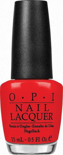 OPI Лак для ногтей Hong Kong Red My Fortune, 15 млNLH42Лак для ногтей OPI быстросохнущий, содержит натуральный шелк и аминокислоты. Увлажняет и ухаживает за ногтями. Форма флакона, колпачка и кисти специально разработаны для удобного использования и запатентованы.