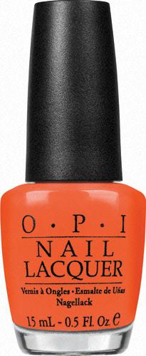 OPI Лак для ногтей Hong Kong A Good Mandarin is Hard to Find, 15 млNLH47Лак для ногтей OPI быстросохнущий, содержит натуральный шелк и аминокислоты. Увлажняет и ухаживает за ногтями. Форма флакона, колпачка и кисти специально разработаны для удобного использования и запатентованы.
