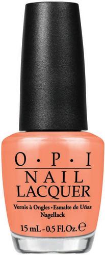 OPI Лак для ногтей Is Mai Tai Crooked?, 15 млNLH68Лак для ногтей OPI быстросохнущий, содержит натуральный шелк и аминокислоты. Увлажняет и ухаживает за ногтями. Форма флакона, колпачка и кисти специально разработаны для удобного использования и запатентованы.