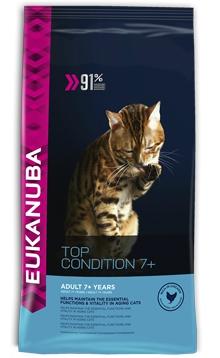 Корм сухой Eukanuba для пожилых кошек, с курицей и печенью, 2 кг81061403Сухой корм Eukanuba является полноценным сбалансированным питанием для пожилых кошек в возрасте старше 11 лет. Не содержит искусственных красителей, консервантов и вкусовых добавок. Особенности корма Eukanuba: - содержит важнейшие антиоксиданты, такие как витамин Е, поддерживающие здоровье иммунной системы; - содержит кальций и другие важнейшие минералы, способствующие развитию костей; - содержит умеренно ферментируемые волокна (пульпу сахарной свеклы), улучшающие усвоение питательных веществ; - содержит оптимально сбалансированный комплекс жирных кислот омега-3 и омега-6 для поддержания здоровья кожи и шерсти; - хрустящие гранулы способствуют поддержанию здоровья зубов; - низкое содержание магния способствует поддержанию здоровья мочевыводящих путей; - содержит наивысший уровень животных белков для поддержания мышечной массы у пожилых кошек. Сухой корм Eukanuba содержит только натуральные компоненты, которые...