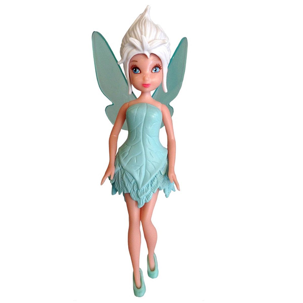Disney Fairies Кукла Фея Periwinkle747580Фигурка Disney Fairies Фея привлечет внимание любой девочки. Фигурка выполнена из прочного высококачественного пластика в виде очаровательной феи из мультфильмов Диснея. Голова, ручки и ножки фигурки подвижны, а платье и туфельки съемные, что позволяет комбинировать наряды. За спиной у феи - полупрозрачные крылышки. Феи Disney - сказочные героини, которые живут в гармонии с природой, их жизнь полна захватывающих приключений и интересных открытий. Ваш ребенок часами будет играть с этой фигуркой, придумывая различные истории. Высокое качество исполнения порадует маленьких и взрослых коллекционеров, и такая фигурка займет достойное место в любой коллекции. Небольшие размеры фигурки позволят брать ее с собой на прогулку. Порадуйте своего ребенка таким замечательным подарком!