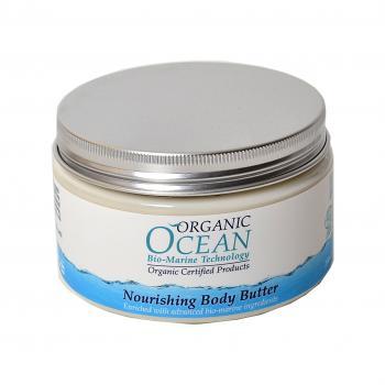 Organic Ocean Питательный крем для тела, 250 мл20901Питательное масло для тела на основе органического сока АЛОЭ ВЕРА насыщает кожу витаминами и микроэлементами, обеспечивает экстраувлажнение и питание. Органические масла ОЛИВЫ, ШИ, ЖОЖОБА, МАКАДАМИИ, МИНДАЛЯ обладают высокой проникающей способностью, устраняют шелушение, раздражение, средство защищает от УФ излучения, обладает антицеллюлитным действием , и повышает эластичность и упругость кожи. ПЧЕЛИННЫЙ ВОСК в составе защищает кожу, делая ее нежной и гладкой. Экстракты Альпийских трав: ИССОПА, ЦАРСКОГО КОРНЯ, ШАНДРЫ ОБЫКНОВЕННОЙ и СКВАЛЕН оказывают противовоспалительное, омолаживающее, смягчающее действие. Масло моментально впитывается, не оставляя жирного блеска, делая кожу мягкой и бархатистой.