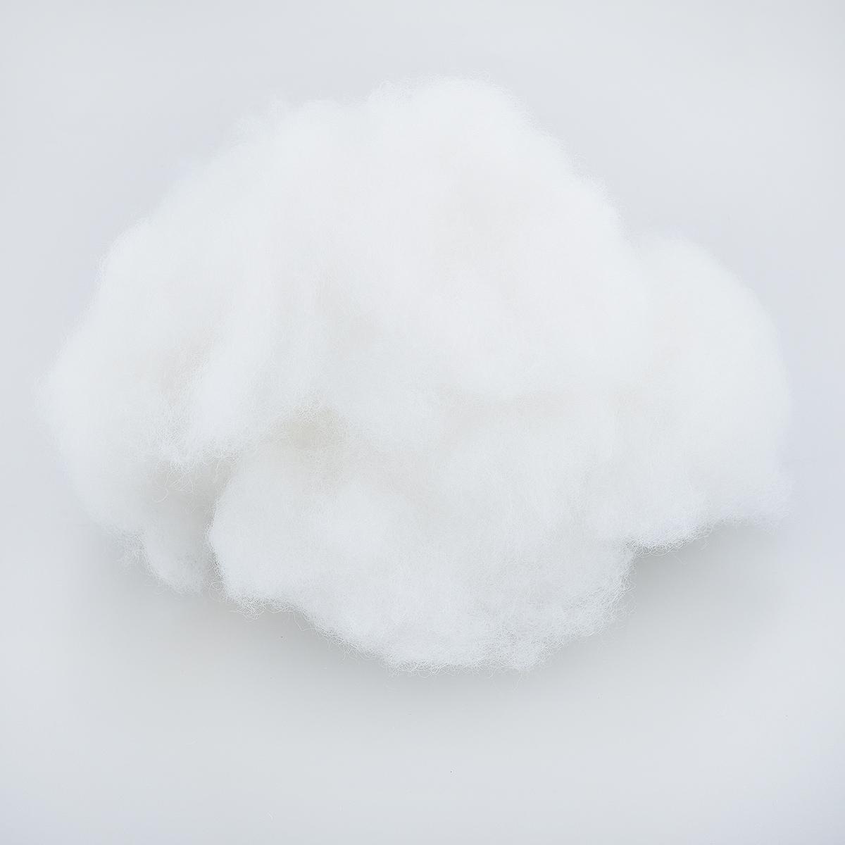 Наполнитель для мягких игрушек Астра, 100 г699905Наполнитель Астра выполнен из легкого, мягкого и упругого синтетического волокна (100% полиэстера) и используется для набивки подушек, одеял и игрушек. Это нетканое синтетическое полотно, состоящее из волокон и имеющее объемную структуру. Наполнитель имеет равномерную толщину на всей протяженности полотна и сохраняет форму после стирки. Вес упаковки: 100 г.