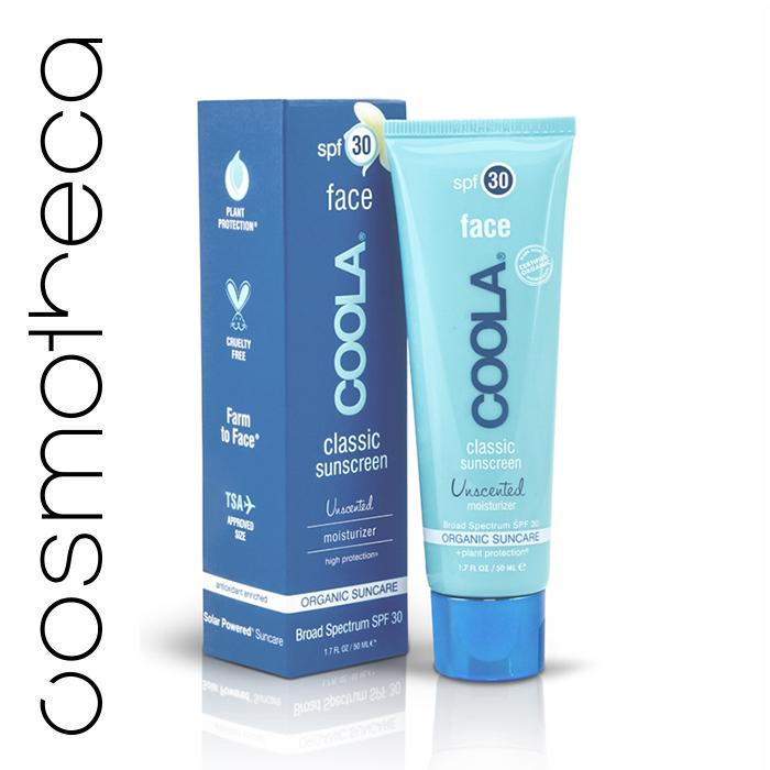 Coola Suncare Солнцезащитный крем для лица, увлажняющий, без запаха, SPF 30, 50 млF30UНежный солнцезащитный крем Coola Suncare для лица, не имеет запаха, обладает шелковистой текстурой, содержит большое количество витаминов и антиоксидантов, борется со старением кожи. Защищает, увлажняет и смягчает нежную кожу лица, быстро впитывается, оставляя кожу идеально матовой. Не оставляет жирных следов, не забивает поры, сочетая такие антиоксидантны, как витамины А, С, D и Е, цинк, а также эксклюзивный ингредиент Juglans Regia Serum (Сыворотка на основе грецкого ореха) и особенное сочетание целебных органических экстрактов для кожи. Этот уникальный увлажняющий солнцезащитный крем идеально дополнит ежедневный уход за кожей, защитит от вредных солнечных лучей, сделав при этом кожу сияющей, гладкой и шелковистой.