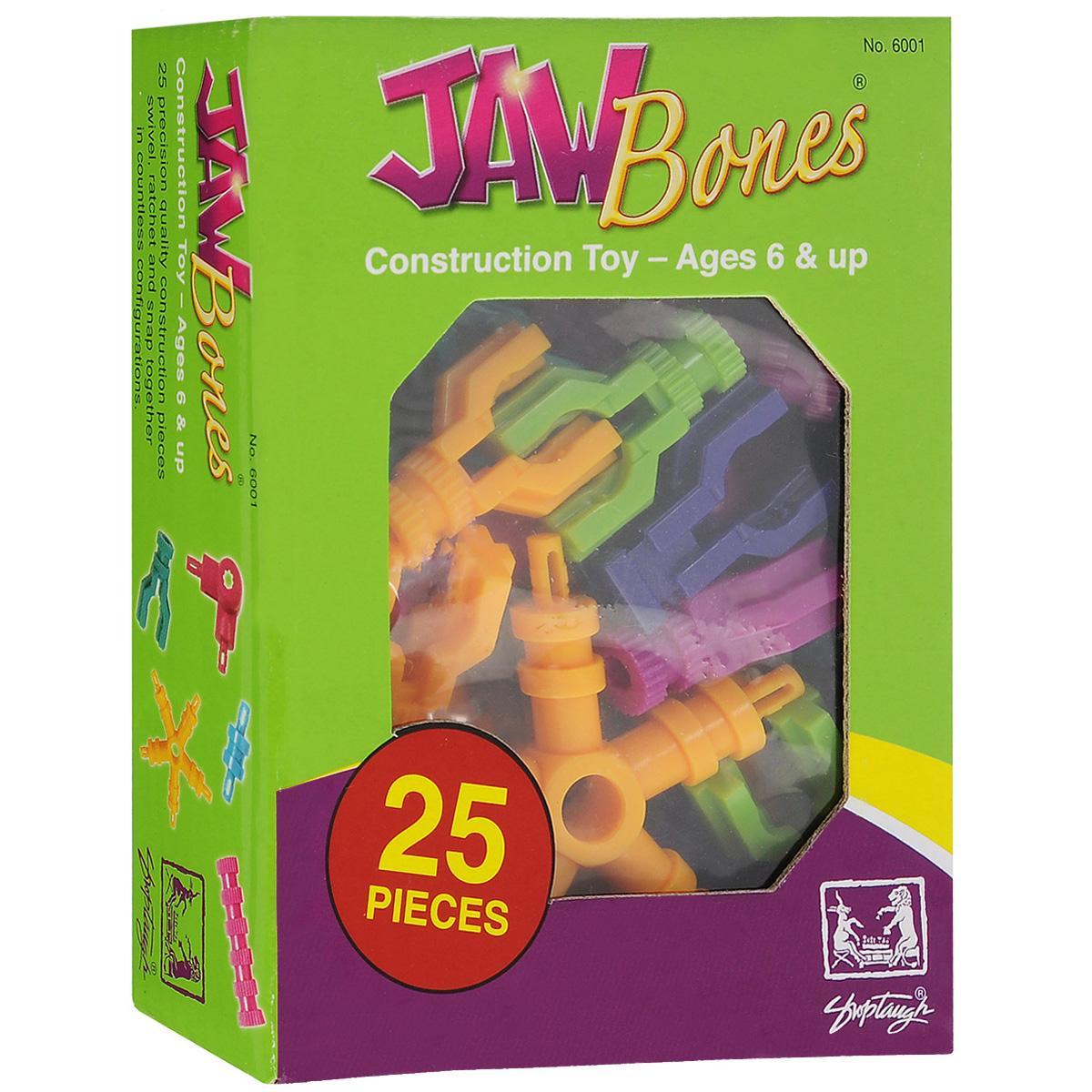 Jawbones Конструктор Самолеты6001Новый развивающий конструктор Jawbones непременно понравится вашему ребенку! При помощи красочных деталей, с уникальным креплением, можно собрать самолет в оригинальном и неповторимом стиле. Конструктор состоит из 13 элементов разного размера, цвета и назначения. Ваш ребенок с удовольствием будет играть с конструктором, придумывая различные истории.