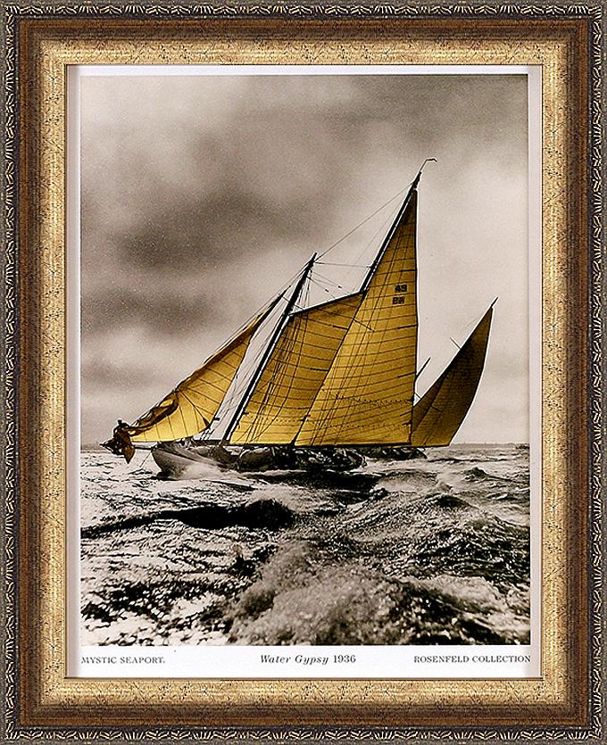 Морская цыганка 1936 (Mystic Seaport), 17 х 22 см17x22 D1349-31211Художественная репродукция картины Mystic Seaport Water Gypsy. 1936. Размер постера: 17 см х 22 см. Артикул: 17x22 D1349-31211.