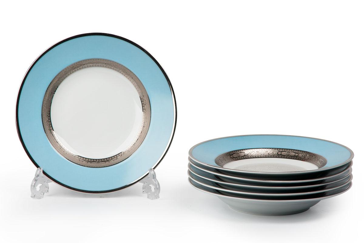 Набор десертных тарелок La Rose des Sables Mimosa, диаметр 22 см, 6 шт539117 1626Набор La Rose des Sables Mimosa состоит из шести десертных тарелок, выполненных из высококачественного фарфора. Изделия декорированы оригинальным принтом. Тарелки имеют круглую форму. Такой набор изящно украсит сервировку стола и порадует вас изящным дизайном. Диаметр (по верхнему краю): 22 см.