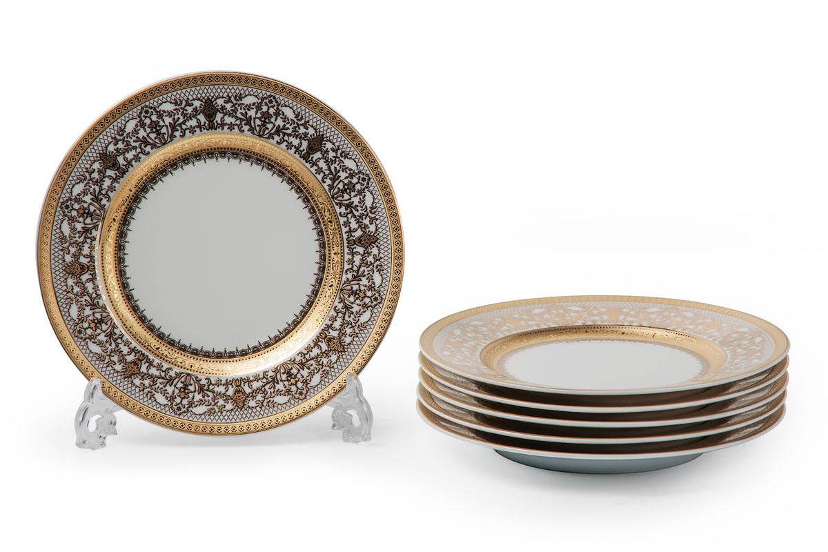 Набор тарелок La Rose Des Sables Mimosa, диаметр 22 см, 6 шт539117 1645Набор La Rose Des Sables Mimosa, выполненный из высококачественного фарфора, состоит из шести тарелок. Изделия декорированы оригинальным узором и прекрасно подойдут для красивой сервировки стола. Эстетичность, функциональность и изящный дизайн сделают набор достойным дополнением к вашему кухонному инвентарю. Набор тарелок La Rose Des Sables Mimosa украсит ваш стол и станет отличным подарком к любому празднику. Диаметр тарелки: 22 см. Высота тарелки: 2 см.