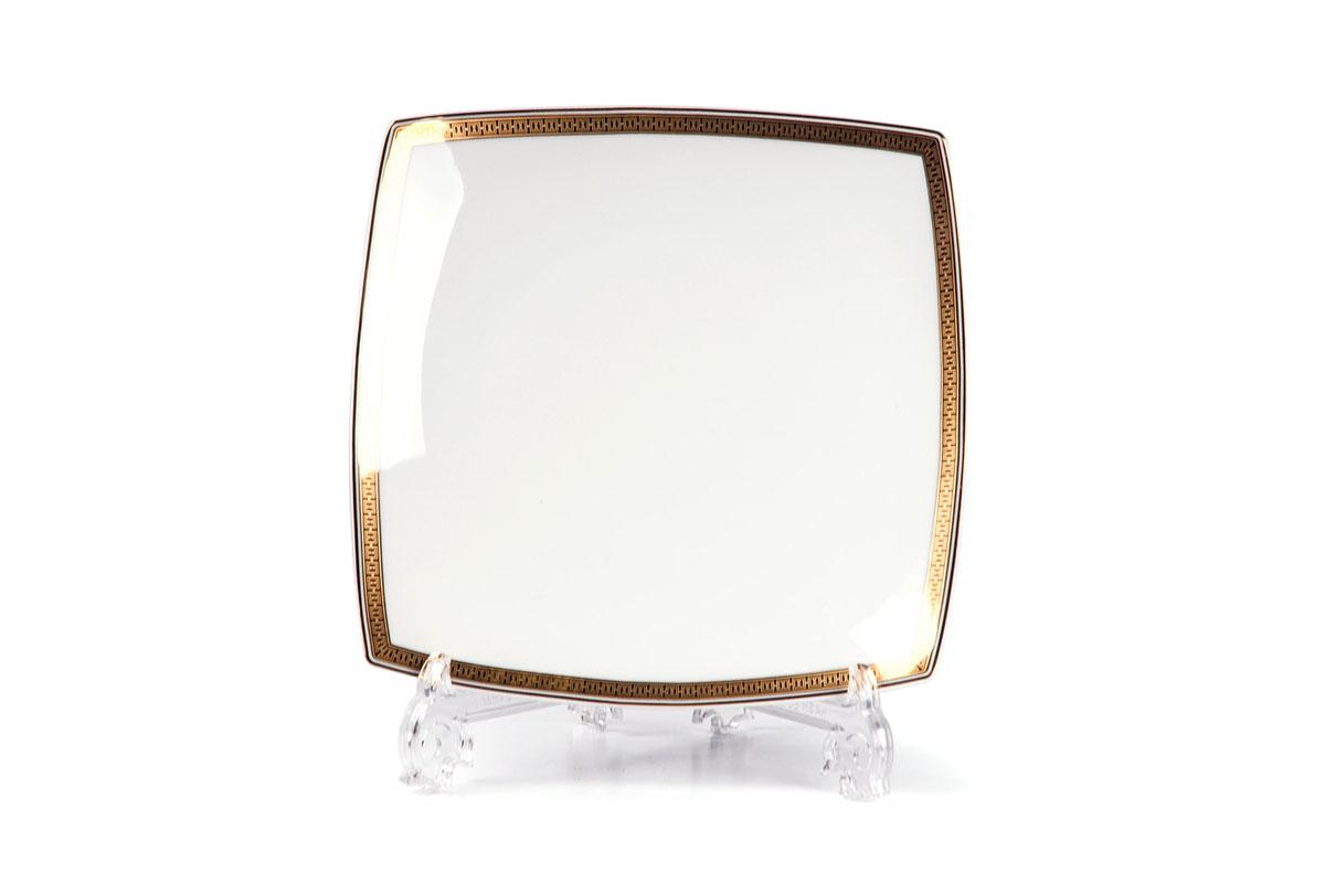 Kyoto 1554 Набор тарелок 26 см, 6 шт/уп, цвет: белый с золотом719100 1555В наборе тарелка 26 см 6 штук