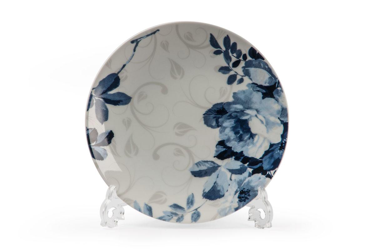 Monalisa 1780 набор тарелок 27см* 6 шт, цвет: бело-синий729006 1780В наборе тарелка 27 см 6 штук Материал: фарфор: цвет: бело-синий Серия: MONALISA
