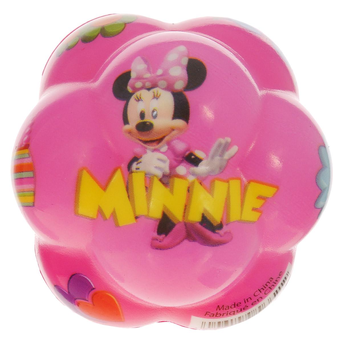 John Суперпрыгающий мяч бозагга Минни, цвет: розовый, 7 см56621WDJohn Суперпрыгающий мяч бозагга Минни прекрасно подойдет для самых маленьких. Мячик выполнен из ПВХ, имеет необычную форму с выпуклостями, которая обеспечивает ему высокую прыгучесть. Мячик с изображением героев любимого мультфильма непременно заинтересует ребенка, ему сразу захочется его потрогать. Яркий мячик станет незаменимым спутником для всех любителей подвижных игр. Он развивает координацию движений и мелкую моторику.