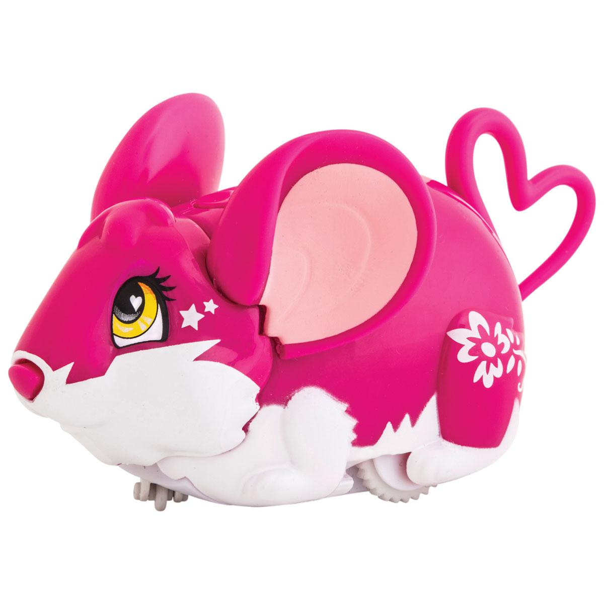 Amazing Zhus Интерактивная игрушка Мышка-циркач Пикадилли26003Amazing Zhus Мышка-циркач Пикадилли - это интерактивная игрушка, выполненная в виде цирковой мышки длиной 11 см. Игрушка имеет 3 игровых режима. При нажатии на кнопку на шее мышка начинает издавать забавные звуки каждые несколько секунд. При нажатии на кнопку на спине (режим исследования) мышка начинает изучать пространство, натыкаясь на препятствие, меняет направление и издает забавные звуки. При нажатии на нос - издает забавные звуки, а в режиме исследования нос используется как радар. В ассортименте есть множество цирковых аксессуаров для игры и фокусов. Очаровательная мышка понравится и детям, и взрослым! Для работы игрушки необходимы 2 батарейки типа ААА (товар комплектуется демонстрационными).