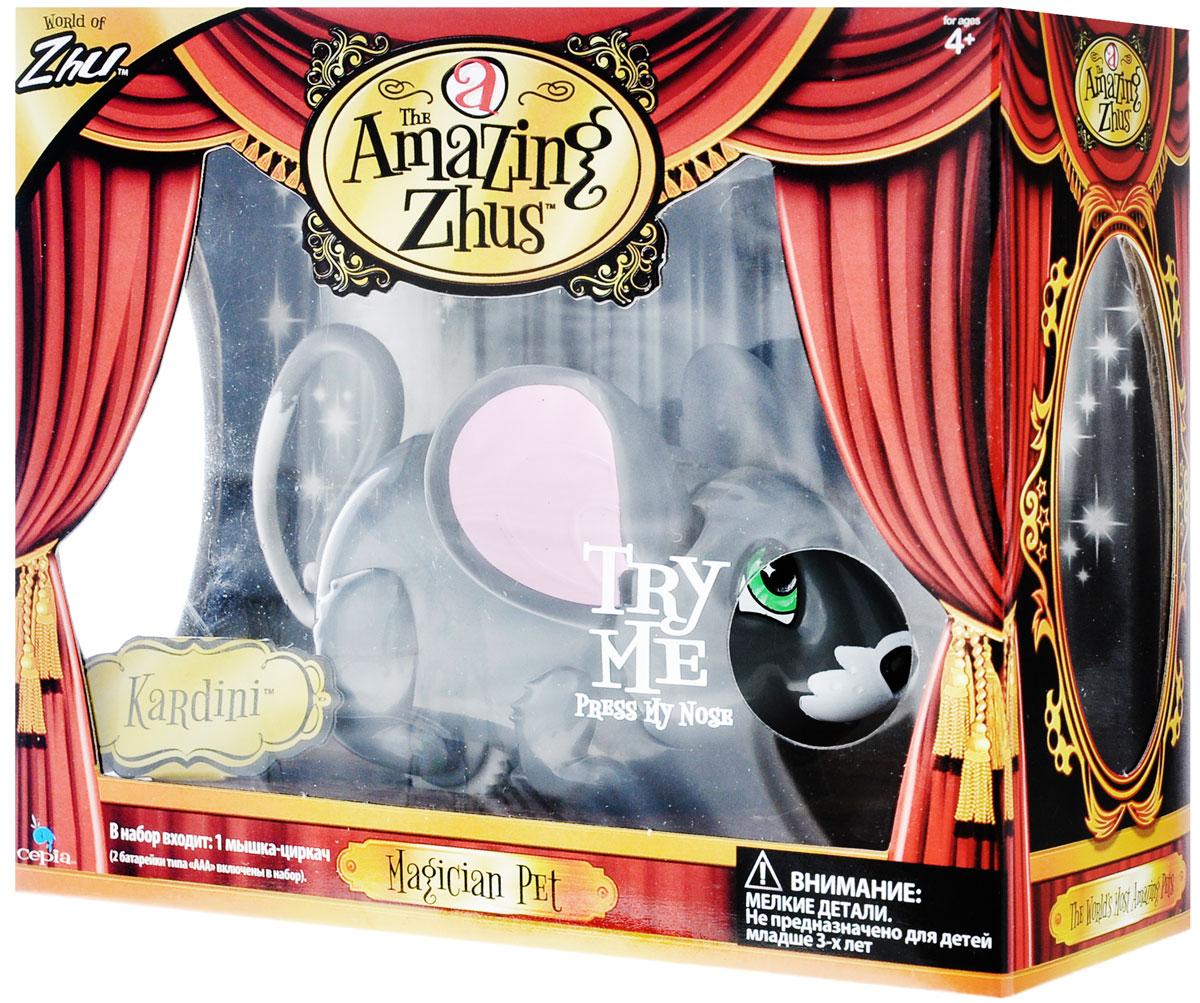 Amazing Zhus Интерактивная игрушка Мышка-циркач Кардини