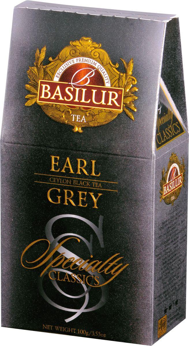 Basilur Earl Grey черный листовой чай, 100 г70773-00Basilur Earl Grey - черный байховый листовой чай с насыщенным ароматом бергамота. Классический вкус и аромат Эрл Грей подарит приятные ощущения во время семейных чаепитий.