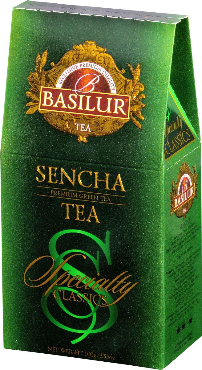 Basilur Sencha зеленый листовой чай, 100 г70775-00Чай зелёный китайский байховый листовой Basilur Sencha. Зеленому чаю Сенча присущ мягкий, приятный вкус и насыщенный цвет настоя, который получается благодаря лёгкой обработки паром листьев сразу после сбора. Этот полезный напиток освежит ваше дыхание и придаст ясность мыслям. Идеально подходит для людей ведущих здоровый образ жизни.