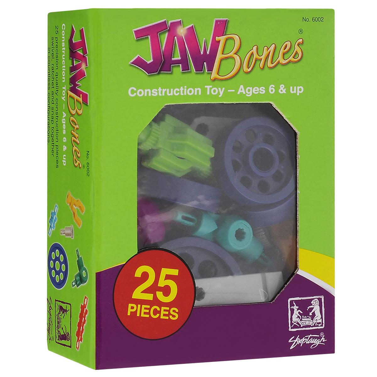 Jawbones Конструктор Автомобили 60026002Новый развивающий конструктор Jawbones непременно понравится вашему ребенку! При помощи красочных деталей, с уникальным креплением, можно собрать автомобили в оригинальном и неповторимом стиле. Конструктор состоит из 13 элементов разного размера, цвета и назначения. Ваш ребенок с удовольствием будет играть с конструктором, придумывая различные истории.