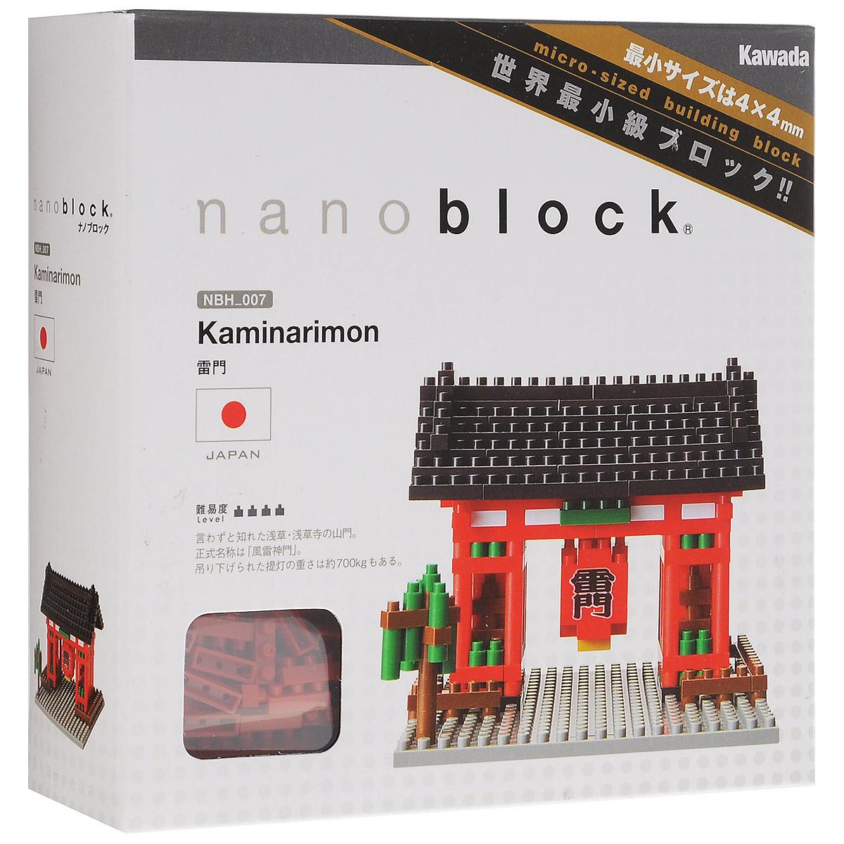 Nanoblock Мини-конструктор Ворота Каминаримон