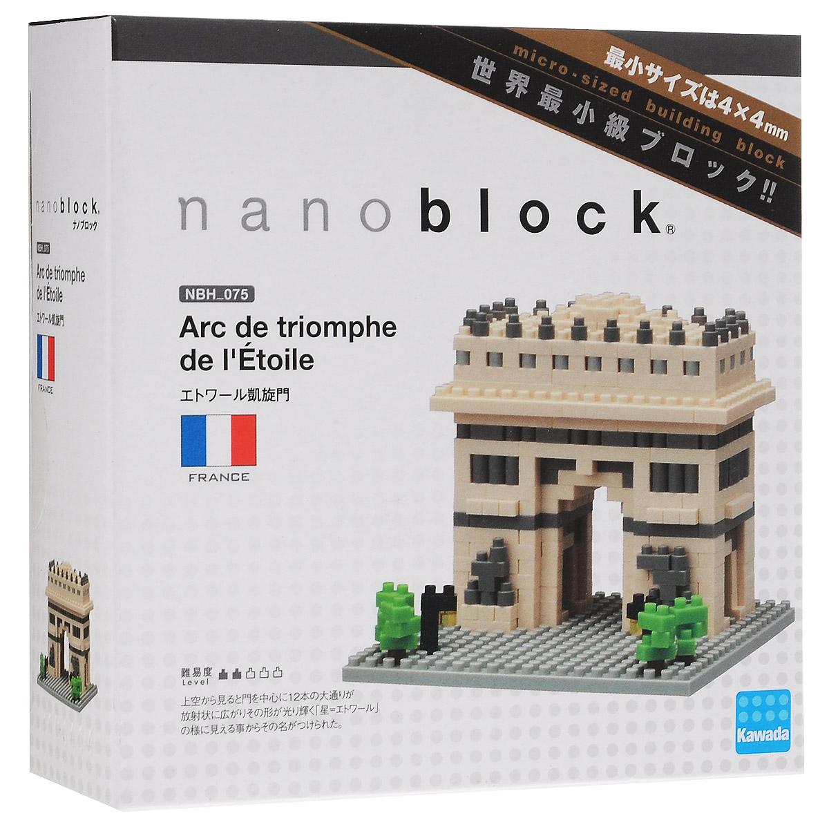 Nanoblock Мини-конструктор Триумфальная Арка
