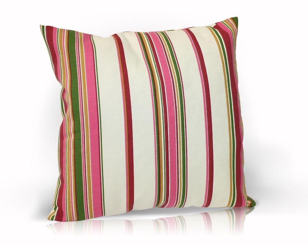 Декоративная подушка Флора, размер 40х40см, цвет розовыйUN121006670