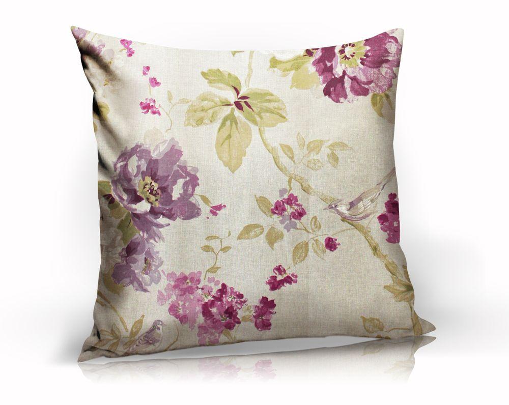 Подушка декоративная Сенигалия, цвет: серый, розовый, 40 х 40 смUN121020625Декоративная подушка Сенигалия прекрасно дополнит интерьер спальни или гостиной. Чехол подушки выполнен из хлопка, украшен цветочным принтом. Внутри - сама подушка из полиэстера с мягким наполнителем из полиэфира. Чехол легко снимается благодаря потайной молнии в тон ткани. Красивая подушка создаст атмосферу уюта в доме и станет прекрасным элементом декора.