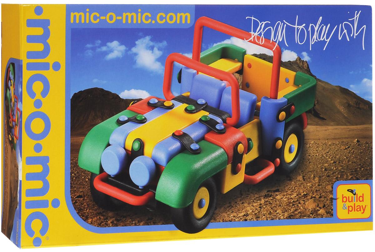 Mic-o-Mic Конструктор Джип089.023Яркий пластиковый конструктор Джип привлечет внимание вашего ребенка и не позволит ему скучать. С помощью элементов конструктора ребенок сможет собрать разноцветную машинку, детали которой соединяются болтами. В комплект также входят запасные кнопки, пластины и инструмент для монтажа. Развивающие конструкторы Mic-o-Mic объединяют в себе дизайн и особое ощущение при прикосновении с обучающей педагогической идеей. Во время сборки модели особенно развиваются мелкая моторика и сила воображения, логическое и пространственное мышление и творческие способности, а также концентрация внимания и усидчивости. Оригинальные конструкторы Mic-o-Mic разработаны в Германии и являются особыми игрушками для детей, направленными на развитие различных способностей и навыков. Набор состоит из отдельных деталей с приятной на ощупь текстурой и уникальной системы крепления из соединительных планок и кнопок для сборки модели. Будь то крылья, колеса или паруса, модели отличаются четкими...