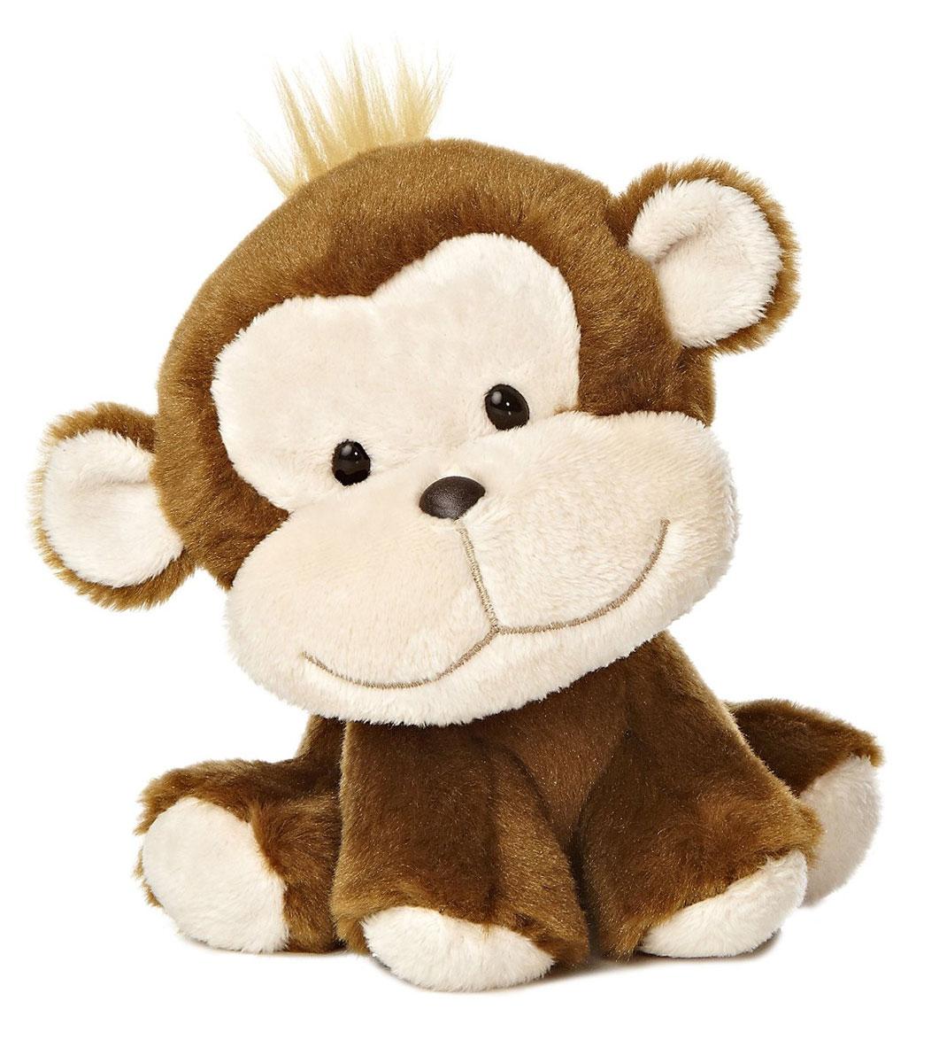 Aurora Мягкая игрушка Обезьянка Wobbly Bobblee, 18 см10-600Очаровательная мягкая игрушка Обезьянка принесет радость и подарит своему обладателю мгновения нежных объятий и приятных воспоминаний. Игрушка очень похожа на своего живого прототипа. Глаза выполнены из пластика, мордочка обезьянки имеет уплотненную форму, что придает ей естественный вид. Игрушка изготовлена из экологически чистых материалов: высококачественного плюшa и гипoaллepгeнного cинтепoна. Не деформируется и не теряет внешний вид после машинной стирки. Великолепное качество исполнения делают эту игрушку чудесным подарком к любому празднику, как для ребенка, так и для взрослых.
