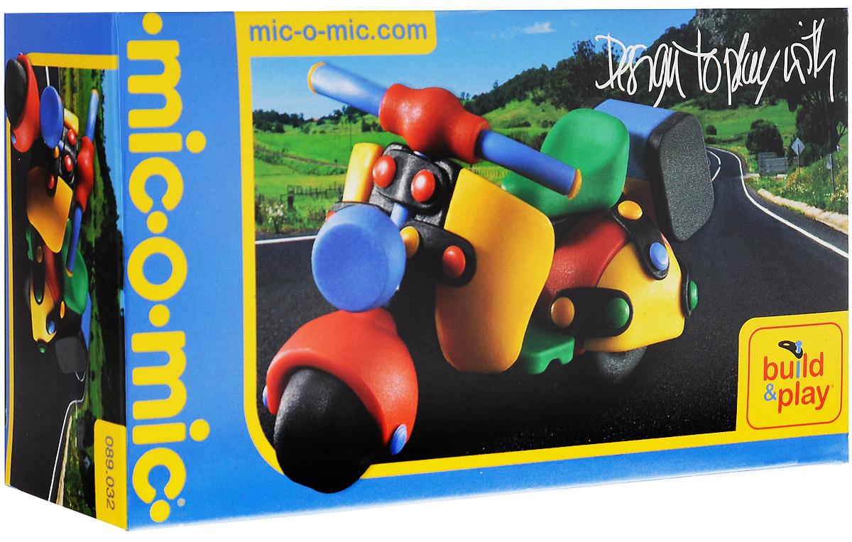 Mic-o-Mic Конструктор Мотоцикл089.032Яркий пластиковый конструктор Мотоцикл привлечет внимание вашего ребенка и не позволит ему скучать. С помощью элементов конструктора ребенок сможет собрать разноцветный мотоцикл, детали которого соединяются болтами. В комплект также входят запасные кнопки, пластины и инструмент для монтажа. Развивающие конструкторы Mic-o-Mic объединяют в себе дизайн и особое ощущение при прикосновении с обучающей педагогической идеей. Во время сборки модели особенно развиваются мелкая моторика и сила воображения, логическое и пространственное мышление и творческие способности, а также концентрация внимания и усидчивости. Оригинальные конструкторы Mic-o-Mic разработаны в Германии и являются особыми игрушками для детей, направленными на развитие различных способностей и навыков. Набор состоит из отдельных деталей с приятной на ощупь текстурой и уникальной системы крепления из соединительных планок и кнопок для сборки модели. Будь то крылья, колеса или паруса, модели отличаются...