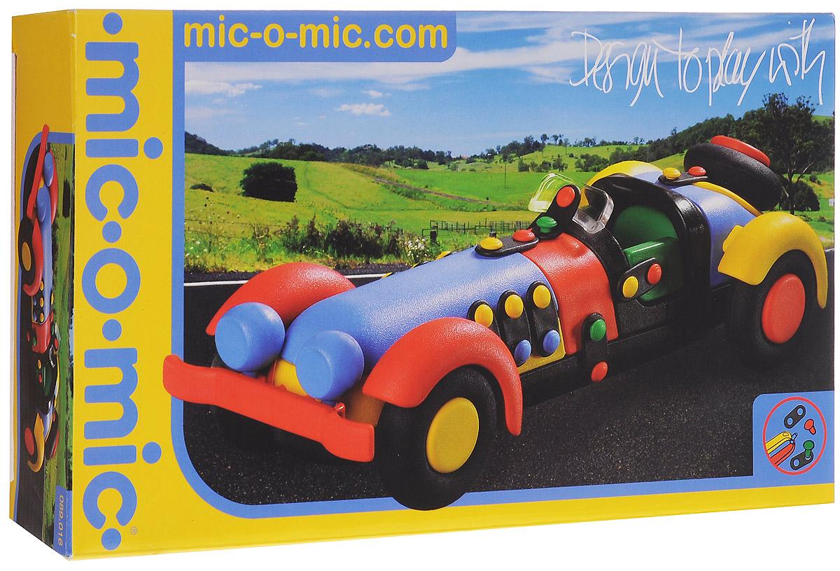Mic-o-Mic Конструктор Автомобиль спортивный089.016Яркий пластиковый конструктор Автомобиль спортивный привлечет внимание вашего ребенка и не позволит ему скучать. С помощью элементов конструктора ребенок сможет собрать разноцветную машинку, детали которой соединяются болтами. В комплект также входят запасные кнопки, пластины и инструмент для монтажа. Развивающие конструкторы Mic-o-Mic объединяют в себе дизайн и особое ощущение при прикосновении с обучающей педагогической идеей. Во время сборки модели особенно развиваются мелкая моторика и сила воображения, логическое и пространственное мышление и творческие способности, а также концентрация внимания и усидчивости. Оригинальные конструкторы Mic-o-Mic разработаны в Германии и являются особыми игрушками для детей, направленными на развитие различных способностей и навыков. Набор состоит из отдельных деталей с приятной на ощупь текстурой и уникальной системы крепления из соединительных планок и кнопок для сборки модели. Будь то крылья, колеса или паруса, модели...