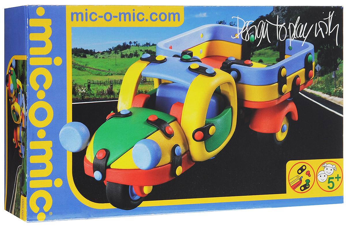 Mic-o-Mic Конструктор Грузовик трехколесный089.024Яркий пластиковый конструктор Грузовик трехколесный привлечет внимание вашего ребенка и не позволит ему скучать. С помощью элементов конструктора ребенок сможет собрать разноцветный грузовик, детали которого соединяются болтами. В комплект также входят запасные кнопки, пластины и инструмент для монтажа. Развивающие конструкторы Mic-o-Mic объединяют в себе дизайн и особое ощущение при прикосновении с обучающей педагогической идеей. Во время сборки модели особенно развиваются мелкая моторика и сила воображения, логическое и пространственное мышление и творческие способности, а также концентрация внимания и усидчивости. Оригинальные конструкторы Mic-o-Mic разработаны в Германии и являются особыми игрушками для детей, направленными на развитие различных способностей и навыков. Набор состоит из отдельных деталей с приятной на ощупь текстурой и уникальной системы крепления из соединительных планок и кнопок для сборки модели. Будь то крылья, колеса или паруса, модели...