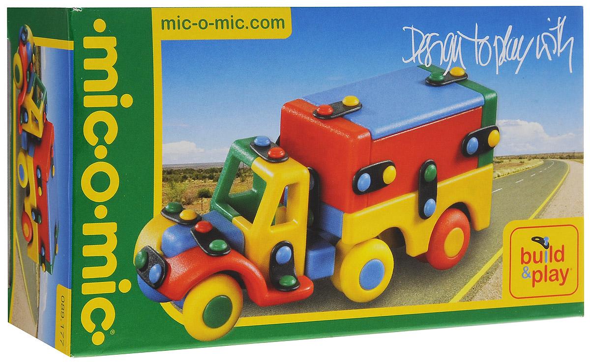 Mic-o-Mic Конструктор Седельный тягач с прицепом089.177Яркий пластиковый конструктор Седельный тягач с прицепом привлечет внимание вашего ребенка и не позволит ему скучать. С помощью элементов конструктора ребенок сможет собрать разноцветный тягач, детали которого соединяются болтами. В комплект также входят запасные кнопки, пластины и инструмент для монтажа. Развивающие конструкторы Mic-o-Mic объединяют в себе дизайн и особое ощущение при прикосновении с обучающей педагогической идеей. Во время сборки модели особенно развиваются мелкая моторика и сила воображения, логическое и пространственное мышление и творческие способности, а также концентрация внимания и усидчивости. Оригинальные конструкторы Mic-o-Mic разработаны в Германии и являются особыми игрушками для детей, направленными на развитие различных способностей и навыков. Набор состоит из отдельных деталей с приятной на ощупь текстурой и уникальной системы крепления из соединительных планок и кнопок для сборки модели. Будь то крылья, колеса или паруса, модели...