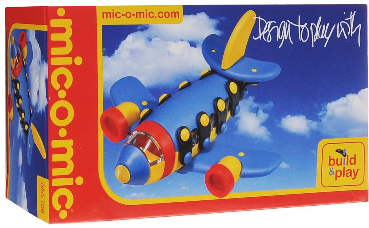 Mic-o-Mic Конструктор Самолет реактивный089.106Яркий пластиковый конструктор Самолет реактивный привлечет внимание вашего ребенка и не позволит ему скучать. С помощью элементов конструктора ребенок сможет собрать разноцветный самолет, детали которого соединяются болтами. В комплект также входят запасные кнопки, пластины и инструмент для монтажа. Развивающие конструкторы Mic-o-Mic объединяют в себе дизайн и особое ощущение при прикосновении с обучающей педагогической идеей. Во время сборки модели особенно развиваются мелкая моторика и сила воображения, логическое и пространственное мышление и творческие способности, а также концентрация внимания и усидчивости. Оригинальные конструкторы Mic-o-Mic разработаны в Германии и являются особыми игрушками для детей, направленными на развитие различных способностей и навыков. Набор состоит из отдельных деталей с приятной на ощупь текстурой и уникальной системы крепления из соединительных планок и кнопок для сборки модели. Будь то крылья, колеса или паруса, модели...