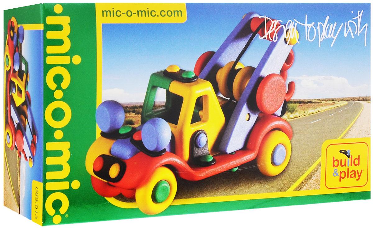 Mic-o-Mic Конструктор Автокран089.013Яркий пластиковый конструктор Автокран привлечет внимание вашего ребенка и не позволит ему скучать. С помощью элементов конструктора ребенок сможет собрать разноцветный автомобиль, детали которого соединяются болтами. В комплект также входят запасные кнопки, пластины и инструмент для монтажа. Развивающие конструкторы Mic-o-Mic объединяют в себе дизайн и особое ощущение при прикосновении с обучающей педагогической идеей. Во время сборки модели особенно развиваются мелкая моторика и сила воображения, логическое и пространственное мышление и творческие способности, а также концентрация внимания и усидчивости. Оригинальные конструкторы Mic-o-Mic разработаны в Германии и являются особыми игрушками для детей, направленными на развитие различных способностей и навыков. Набор состоит из отдельных деталей с приятной на ощупь текстурой и уникальной системы крепления из соединительных планок и кнопок для сборки модели. Будь то крылья, колеса или паруса, модели отличаются...