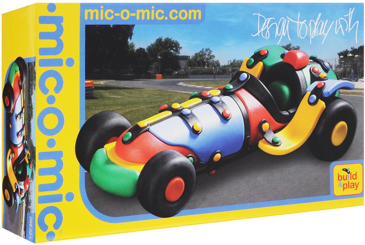 Mic-o-Mic Конструктор Автомобиль гоночный089.021Яркий пластиковый конструктор Автомобиль гоночный привлечет внимание вашего ребенка и не позволит ему скучать. С помощью элементов конструктора ребенок сможет собрать разноцветную машинку, детали которой соединяются болтами. В комплект также входят запасные кнопки, пластины и инструмент для монтажа. Развивающие конструкторы Mic-o-Mic объединяют в себе дизайн и особое ощущение при прикосновении с обучающей педагогической идеей. Во время сборки модели особенно развиваются мелкая моторика и сила воображения, логическое и пространственное мышление и творческие способности, а также концентрация внимания и усидчивости. Оригинальные конструкторы Mic-o-Mic разработаны в Германии и являются особыми игрушками для детей, направленными на развитие различных способностей и навыков. Набор состоит из отдельных деталей с приятной на ощупь текстурой и уникальной системы крепления из соединительных планок и кнопок для сборки модели. Будь то крылья, колеса или паруса, модели...