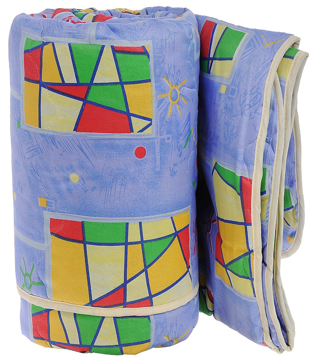 Одеяло всесезонное OL-Tex Miotex, наполнитель: полиэфирное волокно Holfiteks, цвет: сиреневый, желтый, 200 х 220 смМХПЭ-22-3_сиреневыйВсесезонное одеяло OL-Tex Miotex создаст комфорт и уют во время сна. Чехол выполнен из полиэстера и оформлен красочным рисунком. Внутри - современный наполнитель из полиэфирного высокосиликонизированного волокна Holfiteks, упругий и качественный. Прекрасно держит тепло. Одеяло с наполнителем Holfiteks легкое и комфортное. Даже после многократных стирок не теряет свою форму, наполнитель не сбивается, так как одеяло простегано и окантовано. Не вызывает аллергии. Holfiteks - это возможность легко ухаживать за своими постельными принадлежностями. Можно стирать в машинке, изделия быстро и полностью высыхают - это обеспечивает гигиену спального места при невысокой цене на продукцию. Плотность: 300 г/м2.