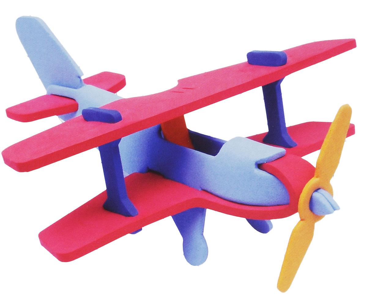 Фантазер Мягкий конструктор 3D Самолет147021Яркий 3D конструктор Самолет привлечет внимание вашего ребенка и не позволит ему скучать. В набор входит 9 деталей конструктора. Размер составных элементов конструктора очень удобен для того, чтобы ребенку было удобно и комфортно в него играть. Собирая конструктор, ребенок разовьет внимание, воображение, мелкую моторику рук, пространственное и логическое мышление, а собранная своими руками игрушка будет для него гораздо дороже, чем готовая - ведь он вложил в нее свой драгоценный труд.
