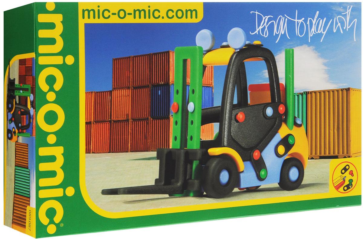 Mic-o-Mic Конструктор Погрузчик089.087Яркий пластиковый конструктор Погрузчик привлечет внимание вашего ребенка и не позволит ему скучать. С помощью элементов конструктора ребенок сможет собрать разноцветный погрузчик, детали которого соединяются болтами. В комплект также входят запасные кнопки, пластины и инструмент для монтажа. Развивающие конструкторы Mic-o-Mic объединяют в себе дизайн и особое ощущение при прикосновении с обучающей педагогической идеей. Во время сборки модели особенно развиваются мелкая моторика и сила воображения, логическое и пространственное мышление и творческие способности, а также концентрация внимания и усидчивости. Оригинальные конструкторы Mic-o-Mic разработаны в Германии и являются особыми игрушками для детей, направленными на развитие различных способностей и навыков. Набор состоит из отдельных деталей с приятной на ощупь текстурой и уникальной системы крепления из соединительных планок и кнопок для сборки модели. Будь то крылья, колеса или паруса, модели отличаются...