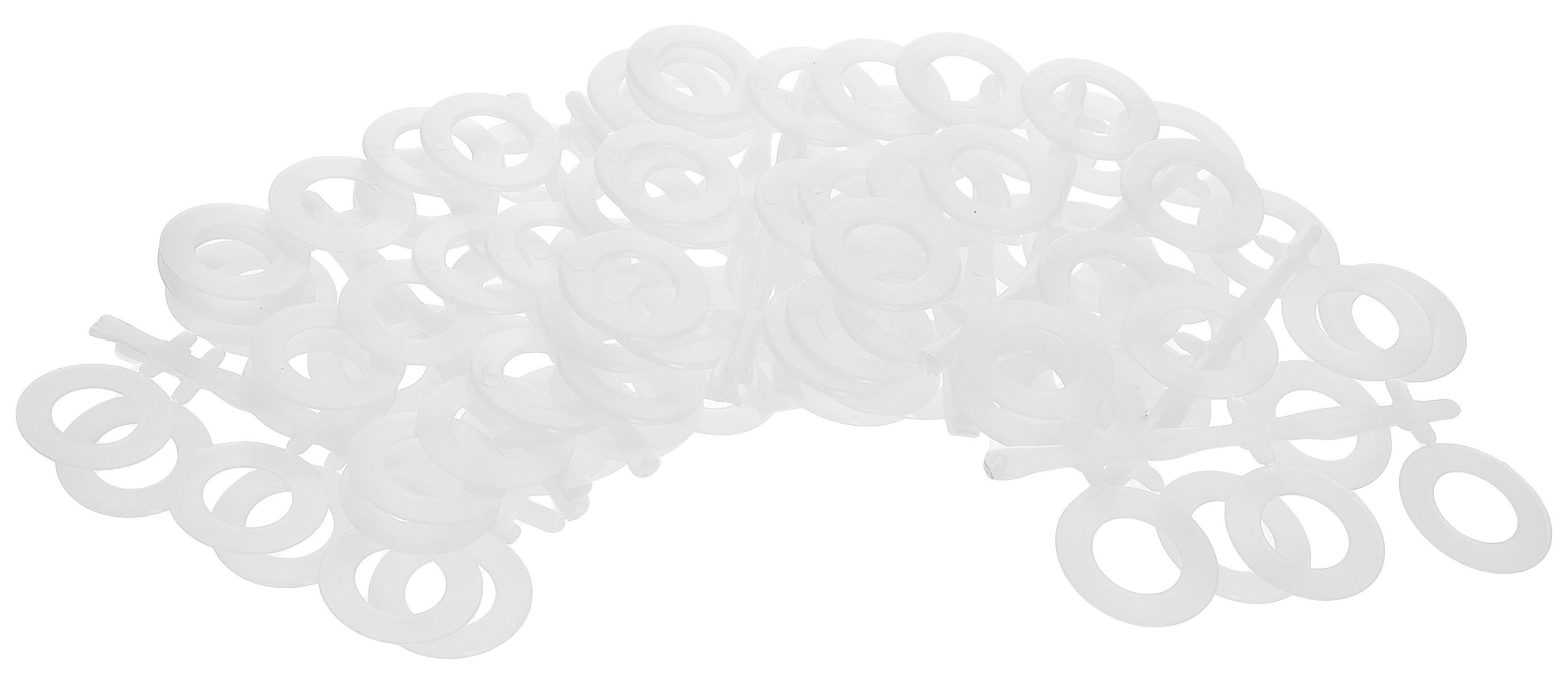 Кольца для обвязывания крючком Prym, диаметр 2,6 см, 96 шт624140_белыйКольца Prym выполнены из высококачественного пластика и предназначены для обвязывания крючком. Искусно обвязанные и украшенные со вкусом кольца подойдут в качестве самостоятельных аксессуаров или дополнительного декора простой одежды. Диаметр: 2,6 см.