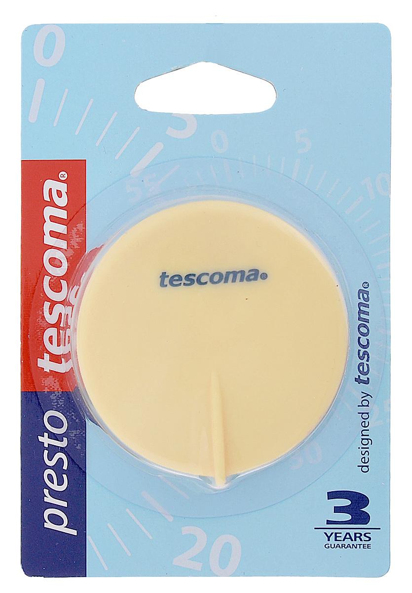 Таймер кухонный Tescoma Presto, цвет: желтый, синий, на 60 мин636070_желтый, синийКухонный таймер Tescoma Presto изготовлен из цветного пластика. Максимальное время, на которое вы можете поставить таймер, составляет 60 минут. После того, как время истечет, таймер громко зазвенит. Изделие оснащено магнитом для удобного размещения в кухне. Оригинальный дизайн таймера украсит интерьер любой современной кухни, и теперь вы сможете без труда вскипятить молоко, отварить пельмени или вовремя вынуть из духовки аппетитный пирог. Общий размер таймера: 5,5 см х 5,7 см х 4 см.