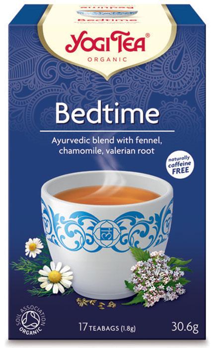 Yogi Tea Bedtime травяной чай в пакетиках, 17 шт480604Аюрведическая чайная смесь Yogi Tea Bedtime с фенхелем, ромашкой и корнем валерьяны. Вечер – прекрасное время, если он протекает расслабленно, спокойно и в благотворной обстановке. Травы и пряности, такие как цветы лаванды, мускатный орех и корень валерьяны помогают снять чувство усталости, беспокойства и забыть хлопоты дня. Мысли в голове успокаиваются. Расслабленно мы предаёмся прекрасным моментам жизни в сопровождении таких ароматных трав, как мята, шалфей и лаванда. Девиз этого чая: Время для самого себя, Просто сделать жизнь сложной; сложно сделать жизнь простой. Мы, люди, являемся целостными существами - с телом, разумом и душой. Для хорошего самочувствия нам необходимо осознанно относиться к питанию, заниматься физическими упражнениями для поддержки нашего тела, а также заботиться о духовном наполнении нашего разума и души. Yogi Tea дарит вдохновение с каждой чашкой чая. С помощью мудрых афоризмов на каждом чайном ярлычке и...