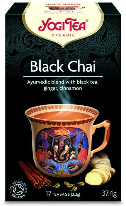 Yogi Tea Black Chai травяной чай в пакетиках, 17 шт450004Аюрведическая чайная смесь Yogi Tea Black Chai с чёрным чаем, имбирём и корицей. Этот крепкий и стимулирующий чай Yogi Tea объединяет в себе такие классические чайные пряности, как корица, пламенный имбирь, анис и чёрный чай Ассам. Ройбуш придаёт ему нежный привкус. Наслаждайтесь им, приготовив по индийской традиции: подсластите и добавьте немного молока или заменителя молока. Девиз этого чая: Решительность и готовность идти на риск, Где эгоизм, там нет друзей. Мы, люди, являемся целостными существами - с телом, разумом и душой. Для хорошего самочувствия нам необходимо осознанно относиться к питанию, заниматься физическими упражнениями для поддержки нашего тела, а также заботиться о духовном наполнении нашего разума и души. Yogi Tea дарит вдохновение с каждой чашкой чая. С помощью мудрых афоризмов на каждом чайном ярлычке и вдохновляющих йога упражнений на каждой упаковке, мы приглашаем вас обрести баланс вашего тела, души и духа, в то время...